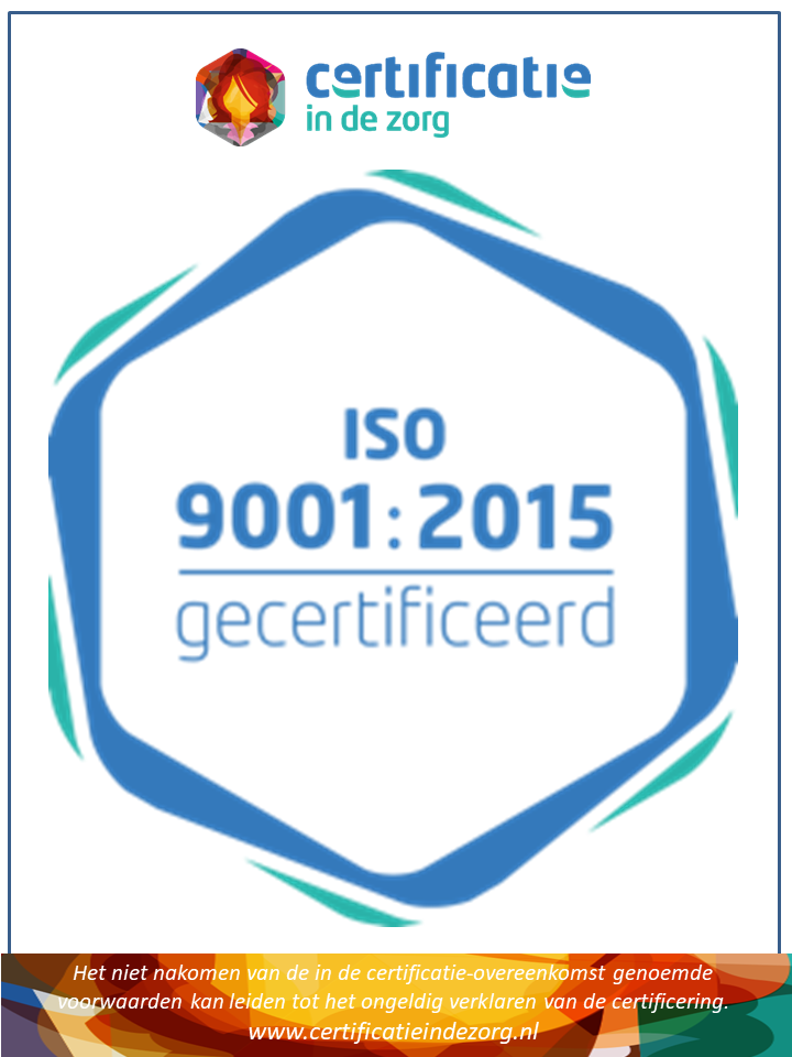 Medispec care B.V. is iso 9001 gecertificeerd